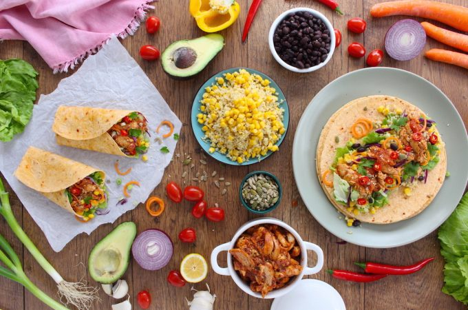 Mexican Chicken Burrito Recipe - www.jayandsarah.nz