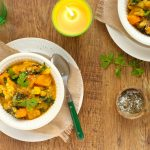 Crock-pot Kumara Cauliflower and Chickpea Curry - www.jayandsarah.nz
