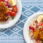 Golden Herb Crusted Chicken Schnitzel - www.jayandsarah.nz