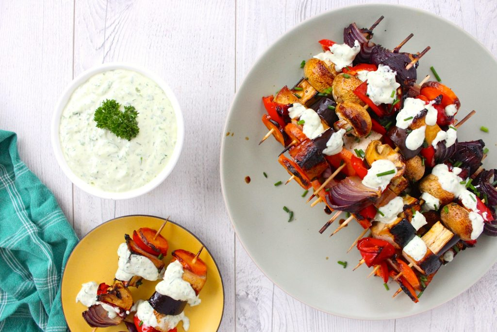 Vegetarian Honey Soy Kebabs - www.jayandsarah.nz