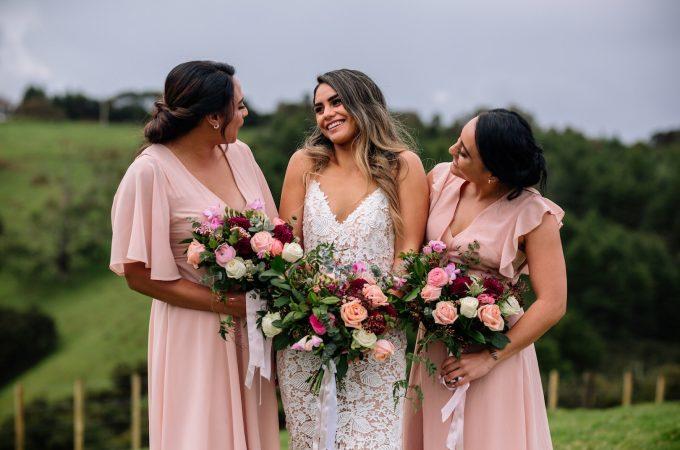 Bay Bloom Wedding Florist - www.jayandsarah.nz